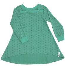 Geggamoja - Dress Dots Green Dots