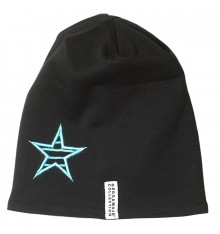 Geggamoja - Star Cap Fleece Black