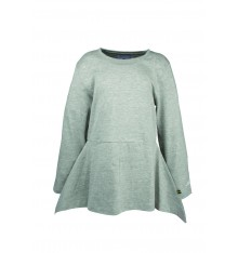 The Brand - TUNIKA PEEPLUM Grey Melange