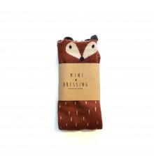 Mini Dressing - Fox Knee Socks Brown