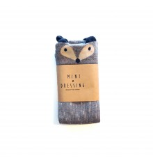 Mini Dressing - Fox Knee Socks Grey