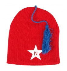 Nova Star - Tassel Beanie Red