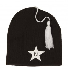 Nova Star - Tassel Beanie Almost Black